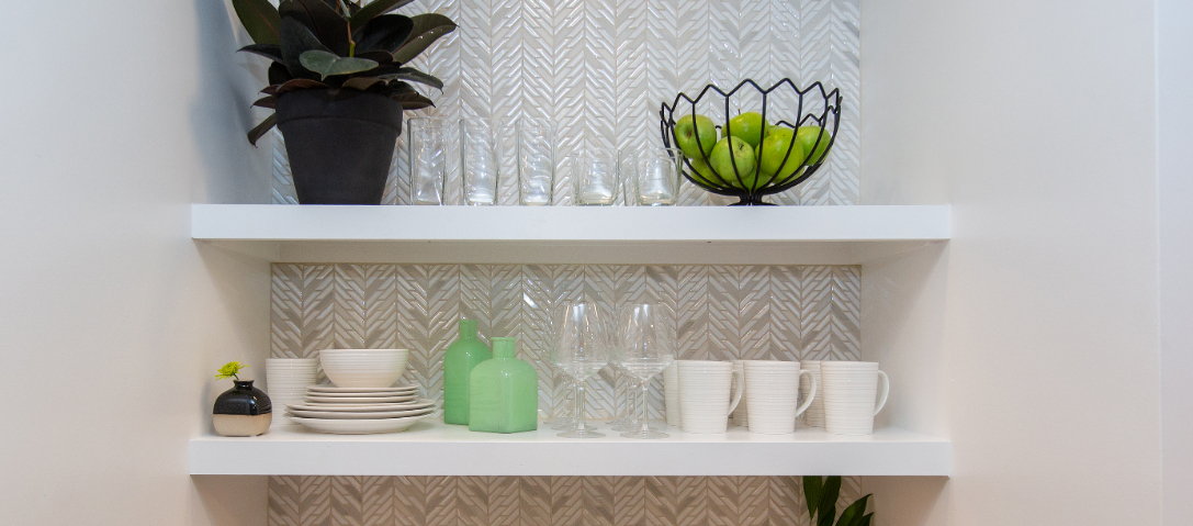 Herringbone Ceramic Tile Backsplashes BELK Tile