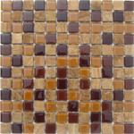Glass and Stone backsplash tiles