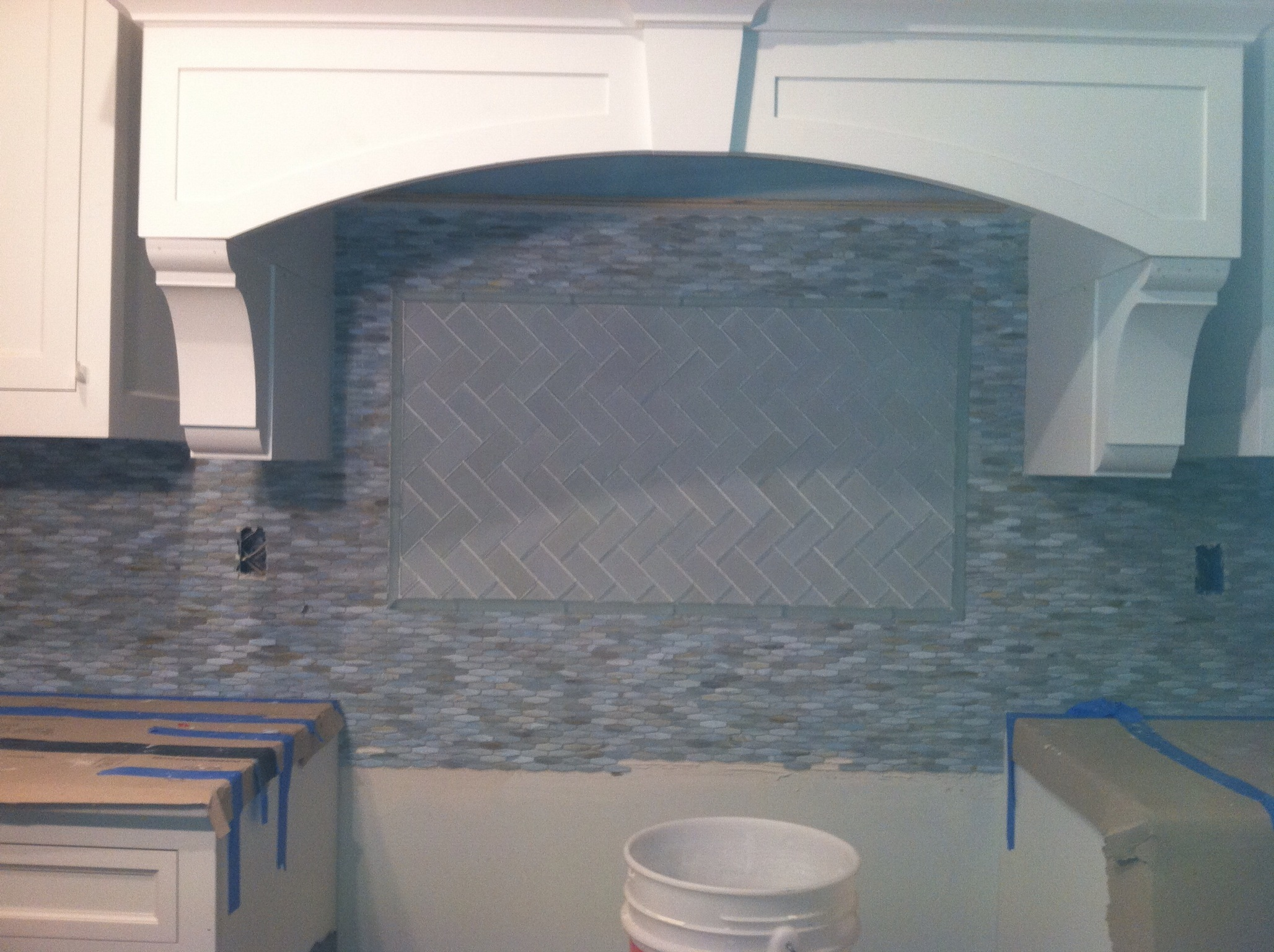 Glass Tile Liner BELK Tile
