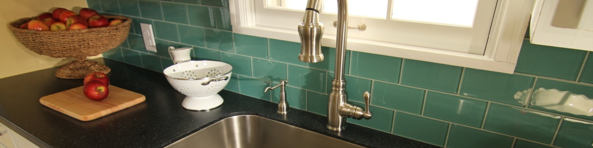 Kitchen Backsplash Glass Subway Tile -Glass Accent Tile - Discount ...