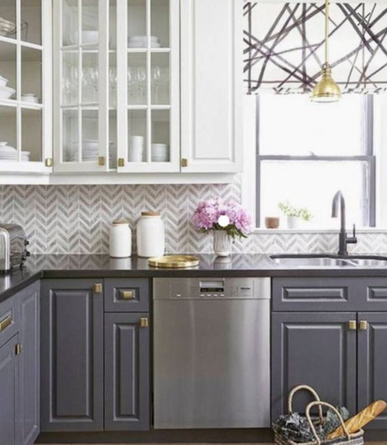 Herringbone Kitchen Backsplash Ideas