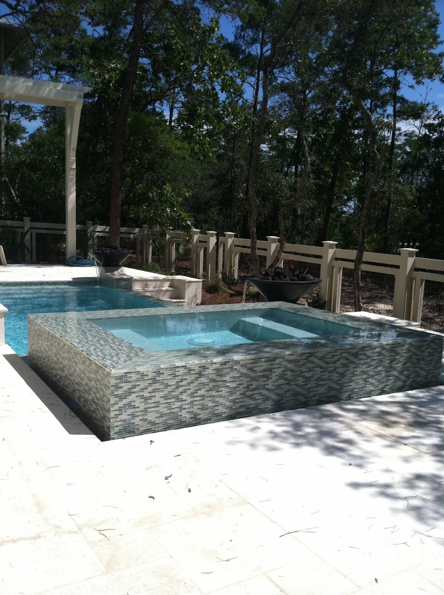 Pool Glass Tile Mosaics