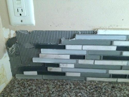 Remove Simple Mat Kitchen Backsplash Tiles by BELK Tile