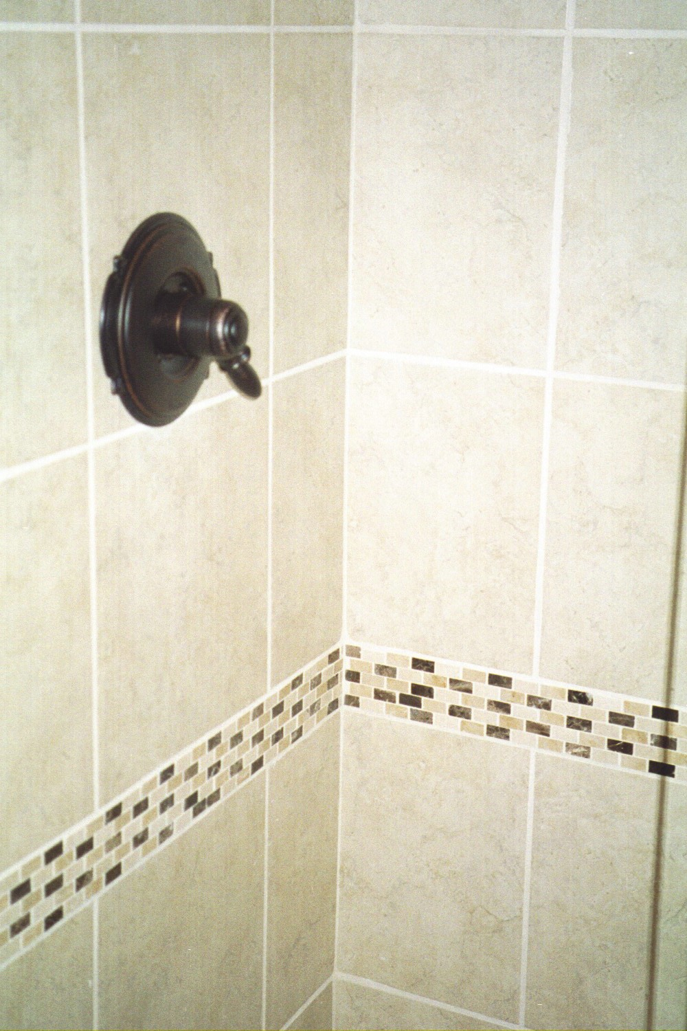 Stone Border tiles for showers - BELK Tile