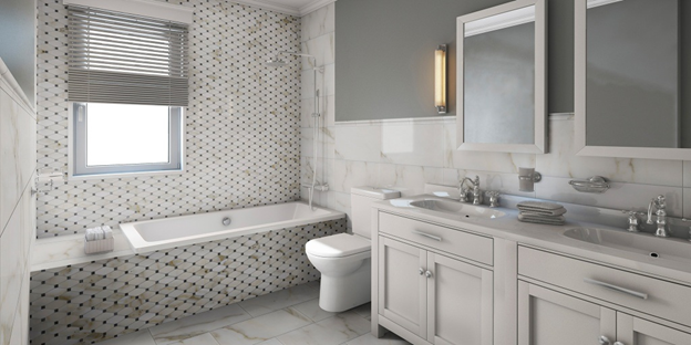 Top tips for renovating a bathroom with tiles