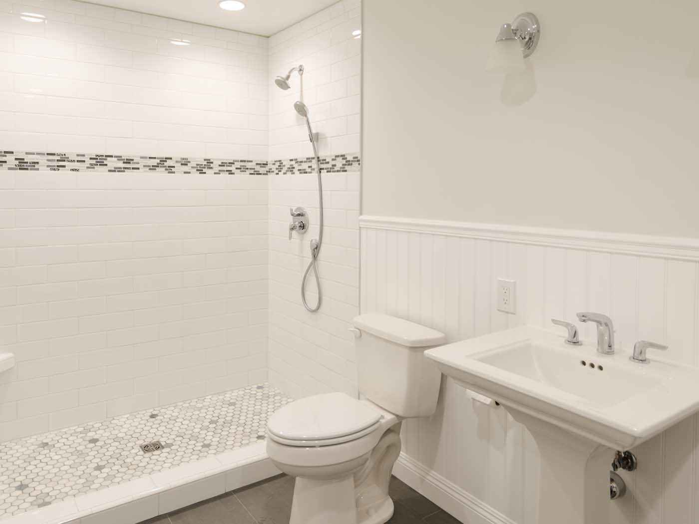 White ceramic bathroom wall tiles | BELK Tile