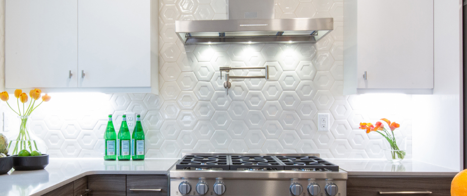 White Ceramic Tile Backsplashes | belktile.com